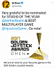 NRS and INJUSTICE 2 nominated for awards at the 2017 golden joystick awards