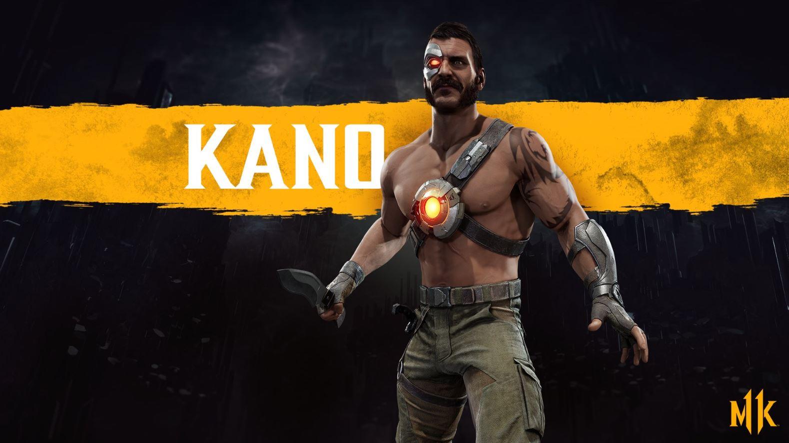 Mortal Kombat 11 Kano Render