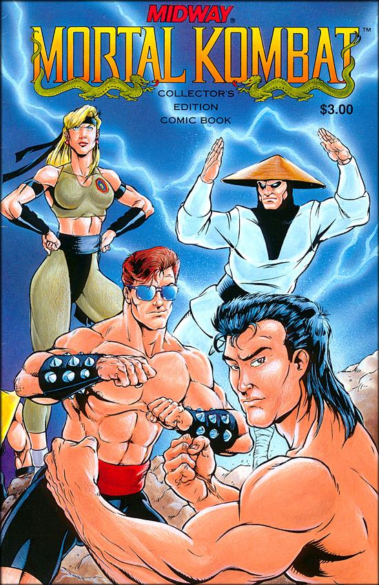 mortal kombat comic cover