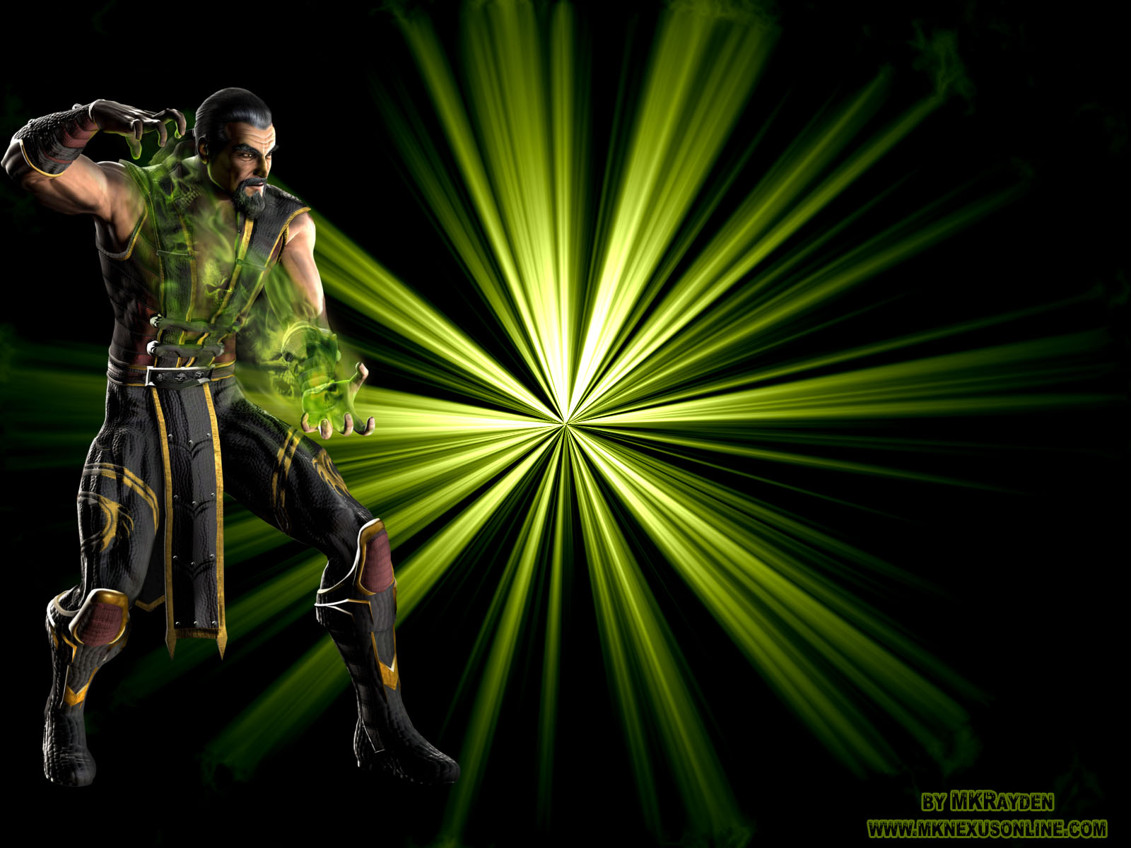 Mortal Kombat VS. DCU Shang tsung Wallpaper
