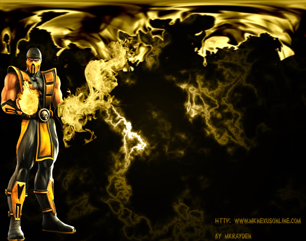 Mortal Kombat Deception Scorpion Wallpaper