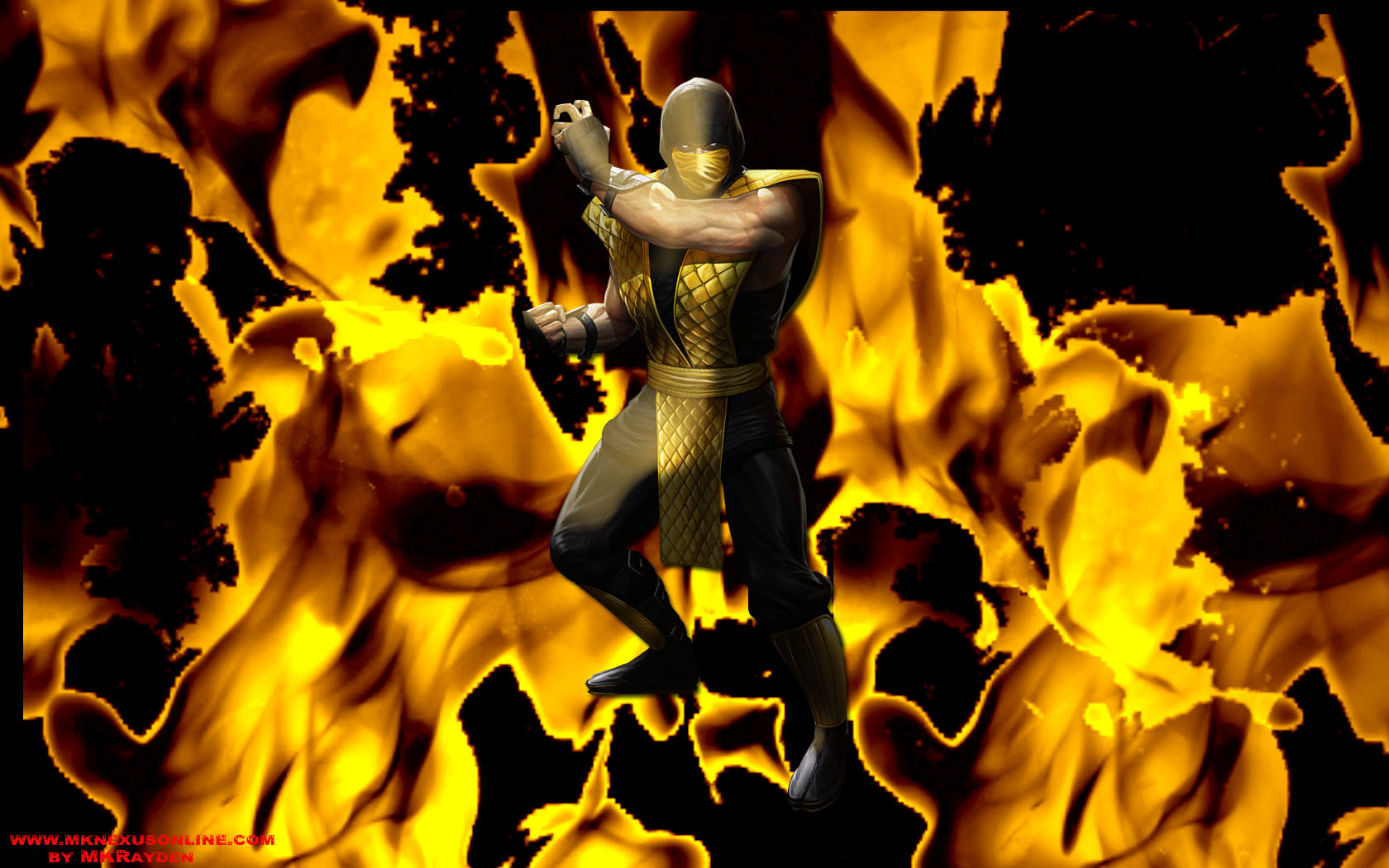 Mortal Kombat Deception Scorpion Inferno Wallpaper