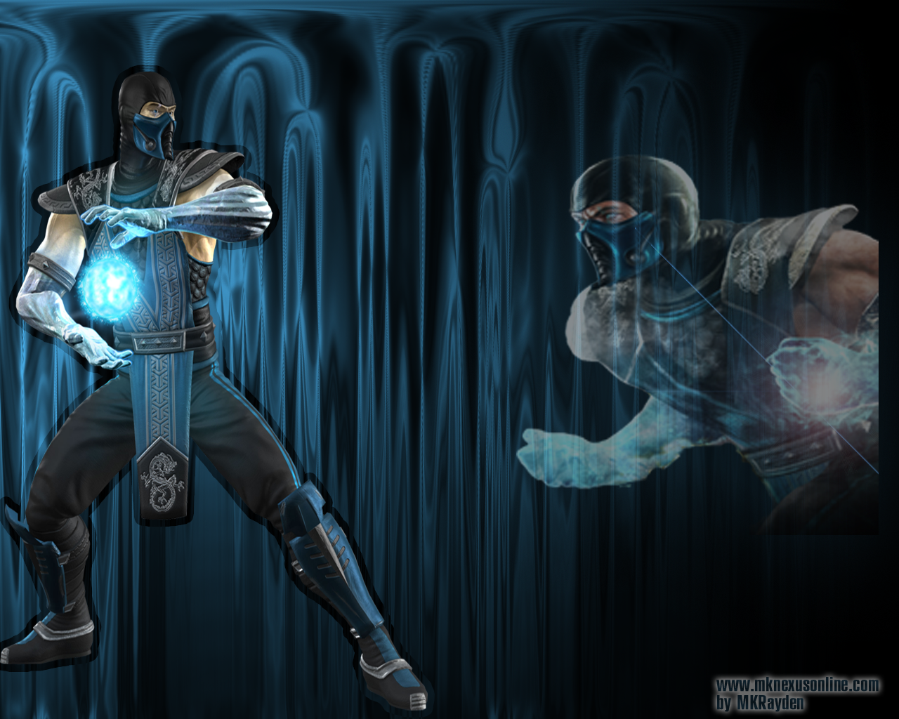 Mortal Kombat Sub-Zero Wallpaper