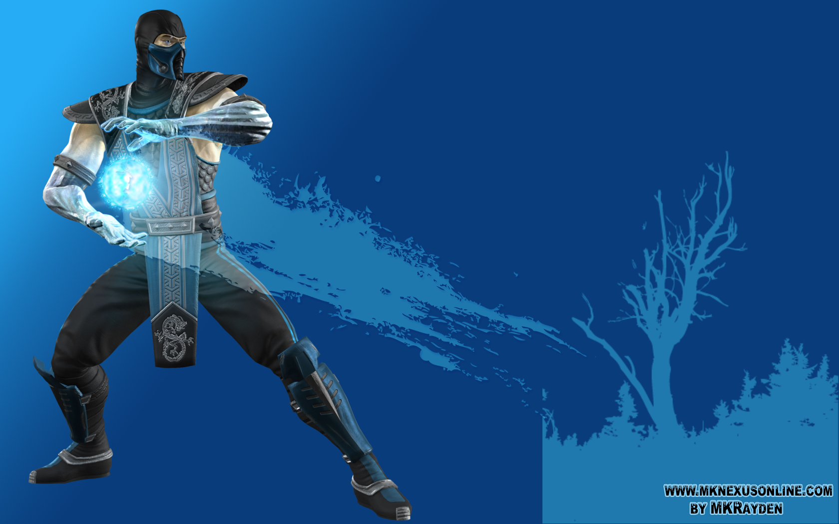 Mortal Kombat VS. DCU Sub-Zero Wallpaper