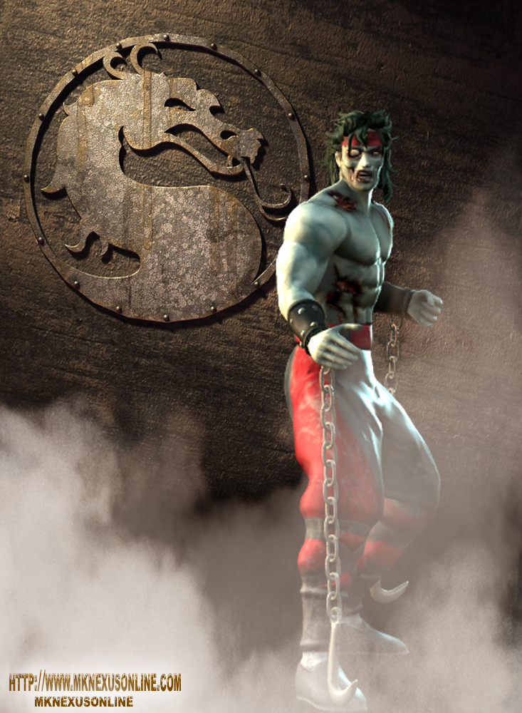 Mortal Kombat Deception Zombie Liu Kang