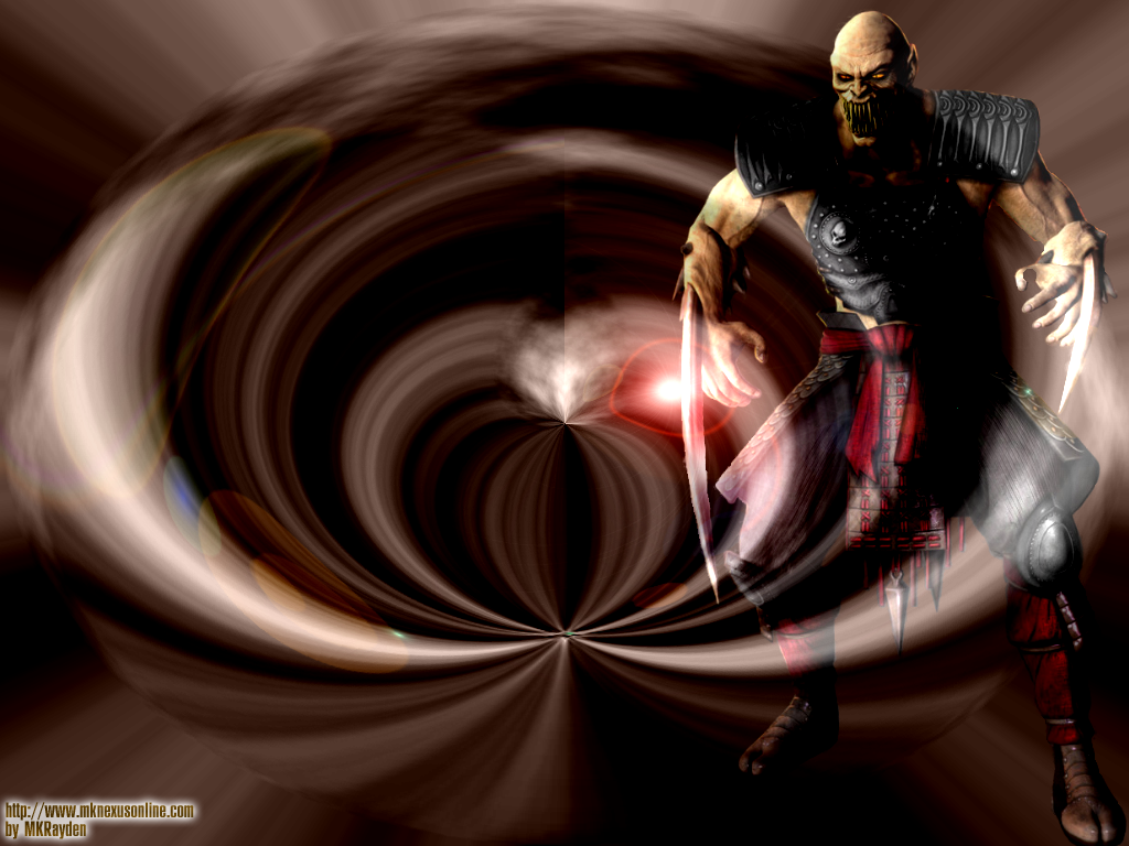 Mortal Kombat VS. DCU Baraka Wallpaper