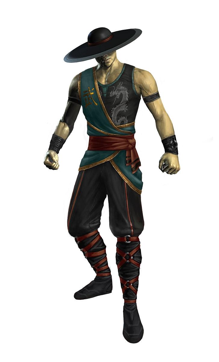 Mortal Kombat 9 Kung Lao Render