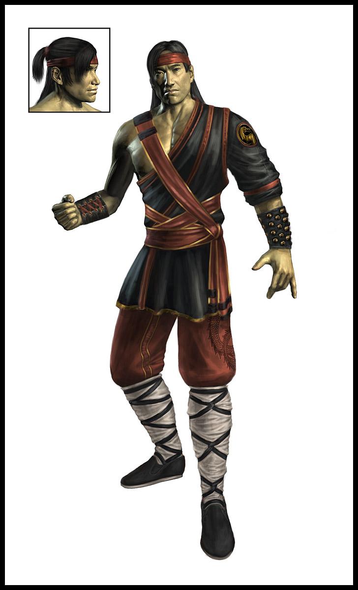 Mortal Kombat 9 Liu Kang Render