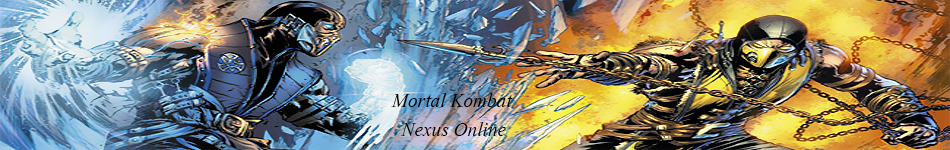 Mortal Kombat X Sub-Zero and Scorpion Banner